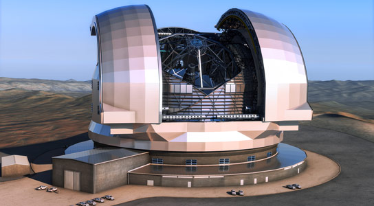Approval to Build European Extremely Large Telescope