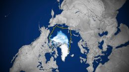 Arctic Sea Ice Concentration September 2020