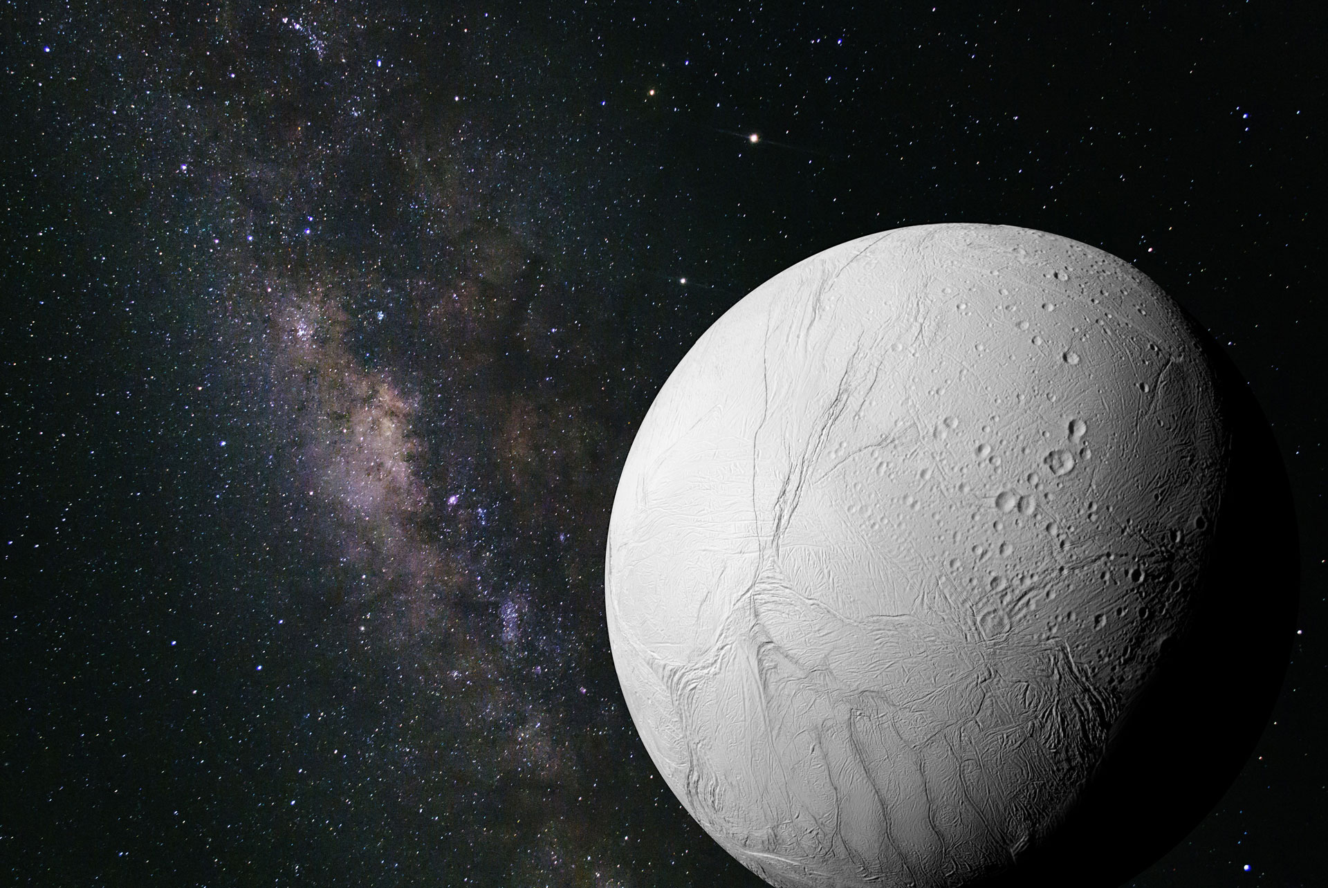 Are Distant Snowy Moons Potentially Habitable?