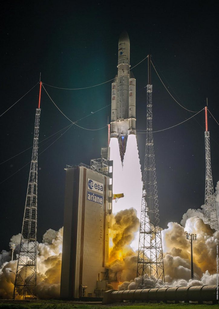 Ariane 5 Launch August 2020