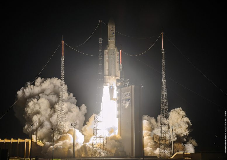 Ariane 5 Liftoff August 2020