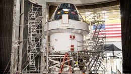 Artemis I Orion Spacecraft