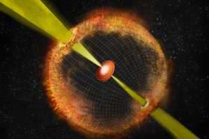 Artist's Depiction of a Gamma Ray Burst