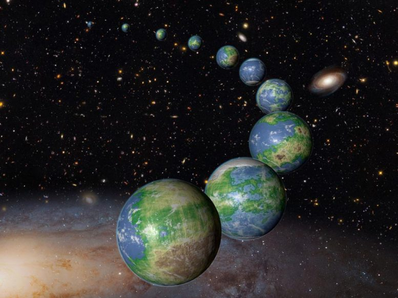 Artist's Conception of Earth like Planets