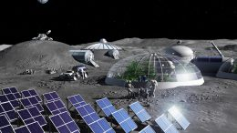 Artist Impression Moon Base