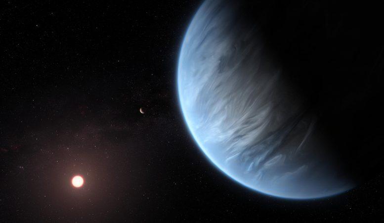 Artist Impression Planet K2-18b
