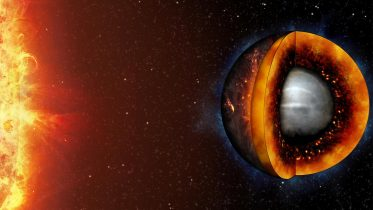 Liquifying a Rocky Exoplanet to Aid in the Search for Earth-Like Worlds Beyond Our Solar System