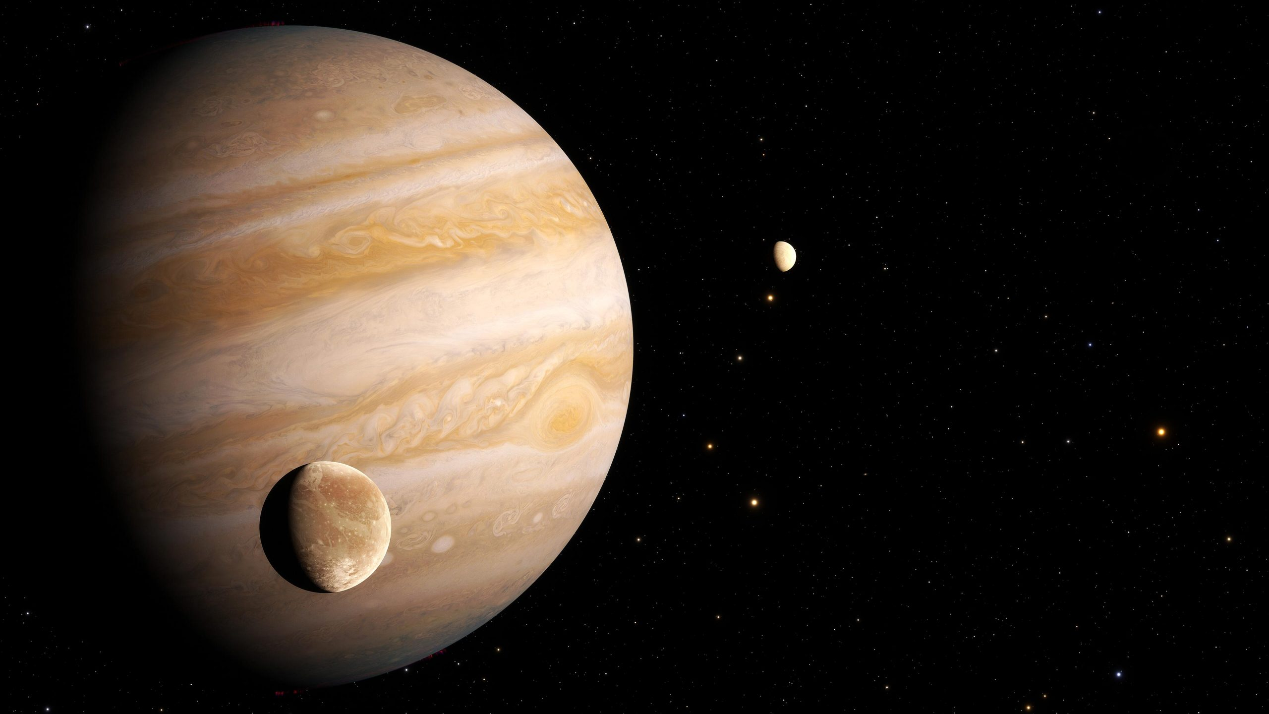 Hubble Finds First Evidence of Water Vapor in the Atmosphere of Jupiter's Moon Ganymede - SciTechDaily