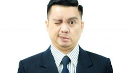 Asian Man With Bell's Palsy