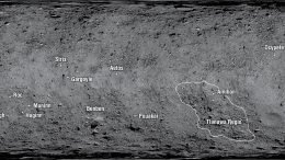 Asteroid Bennu Location Names