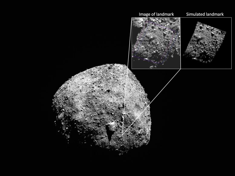 Asteroid Bennu OSIRIS REx Navigation Camera