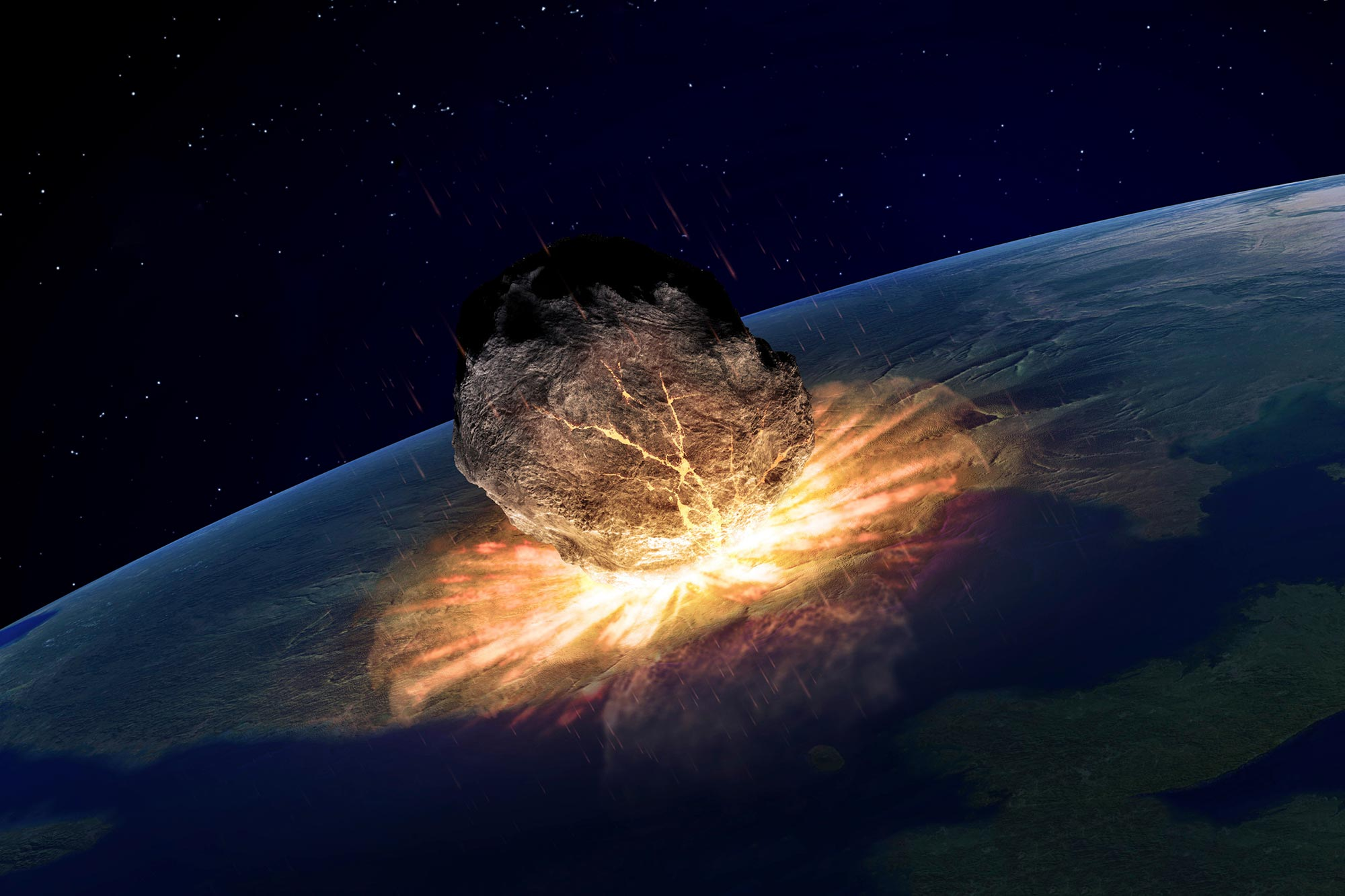 Asteroid Dust Found in Crater Closes Case on What Killed the Dinosaurs