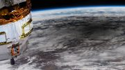 Astronaut's View of an Annular Eclipse
