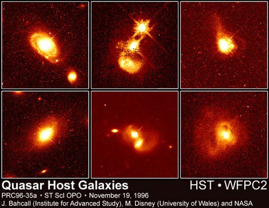 Astronomers Confirm Existence of Quiet Quasars