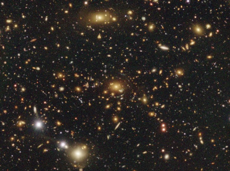 Astronomers Create New Dark Matter Map