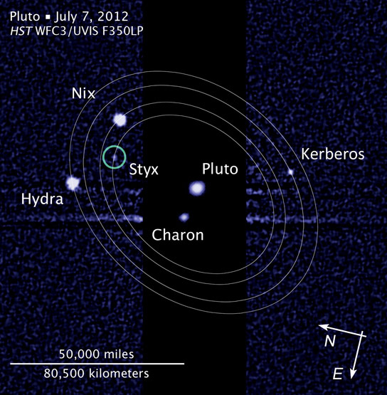 Astronomers Detail the Formation of Plutos Low Mass Satellites