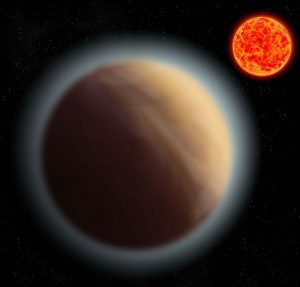 Astronomers Detect Atmosphere Around the Planet GJ 1132b