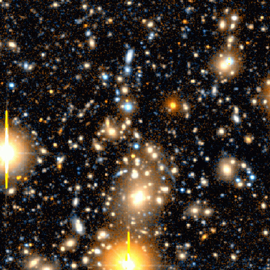 Astronomers Detect Dramatic Gas Outflow Abell 1835