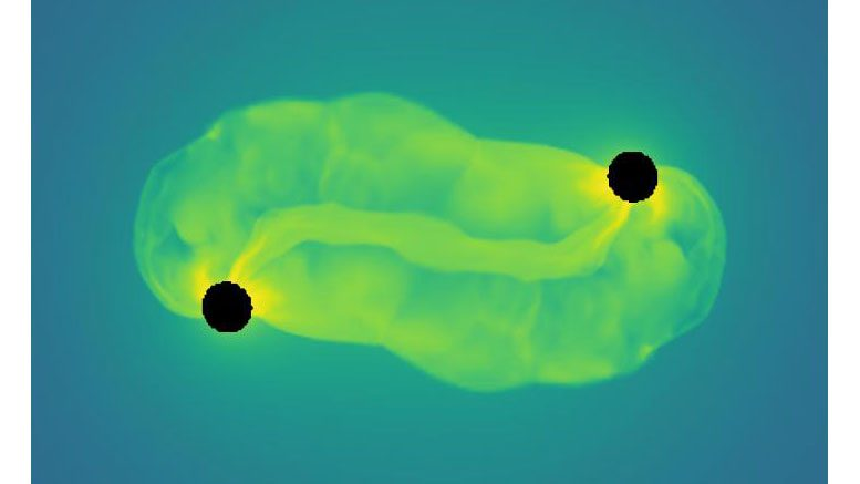 Astronomers Detect Gravitational Waves from Binary Black Hole Mergers inside Stars