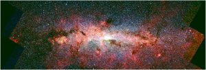 Astronomers Detect High Pressure Star Formation in the Galactic Center