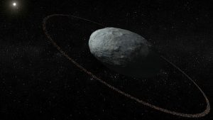 Astronomers Detect Ring Around a Dwarf Planet