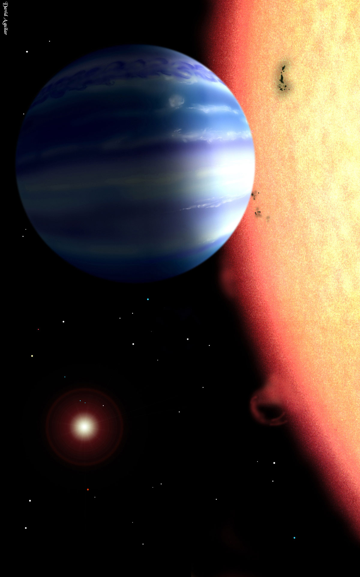 extrasolar or exoplanet planet outside the Finding exoplanets isn't easy, but in late 2016, astronomers discovered the closest one yet proxima centauri is an exoplanet that orbits within the habitable zone of the star closest to the sun.
