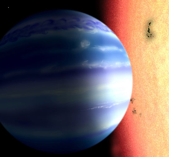 Astronomers Detect Water in the Atmosphere of a Planet Outside Our Solar System