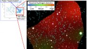 Astronomers Detect the Shadow of a Gas Cloud in an Ancient Proto-Supercluster