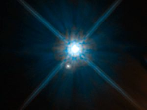 Astronomers Develop a New Use for a Century-Old Relativity Experiment to Measure a White Dwarf's Mass
