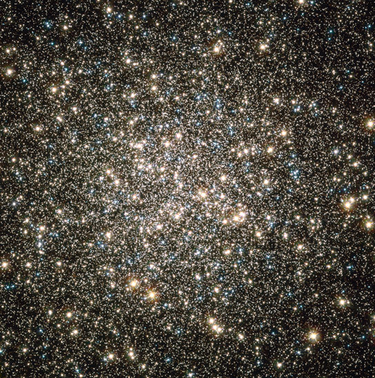 Astronomers Discover Central Rotations of Milky Way Globular Clusters