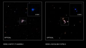 Astronomers Discover Double Black Holes