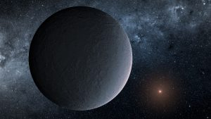 Astronomers Discover Iceball Planet Through Microlensing
