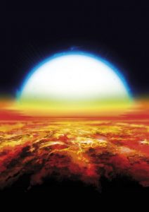 Astronomers Discover Iron and Titanium in the Atmosphere of an Exoplanet