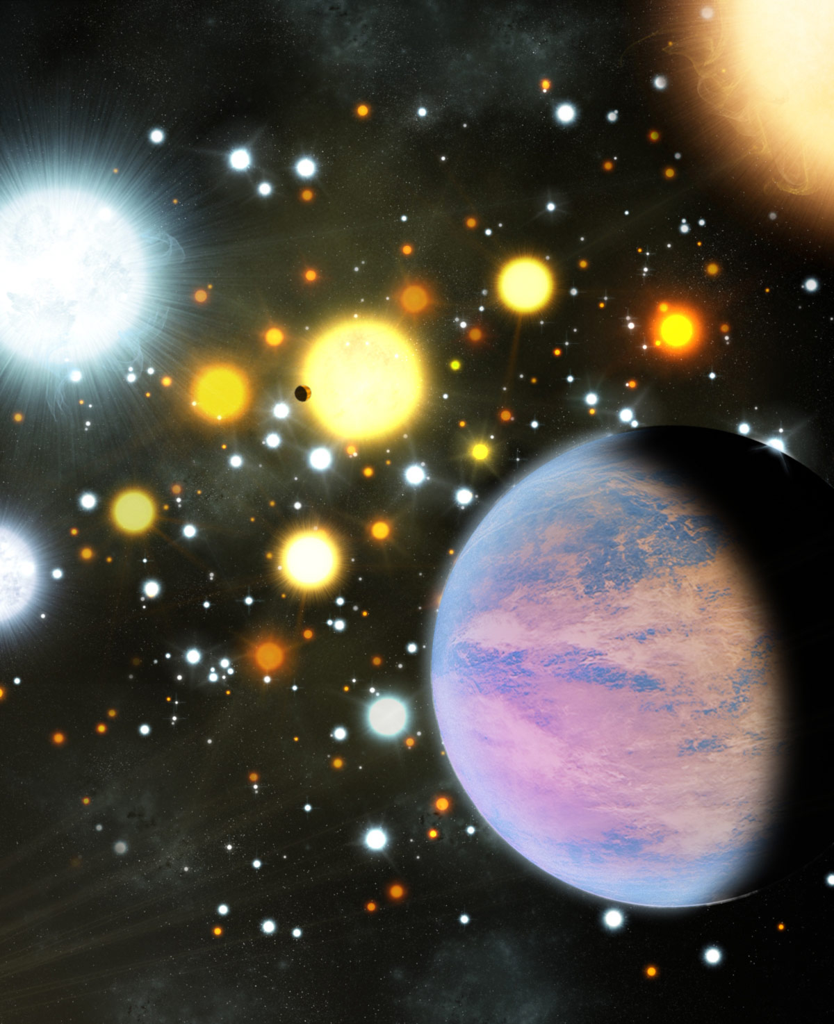 Astronomers Discover Two Planets Smaller than Neptune Orbiting Sun Like  Stars