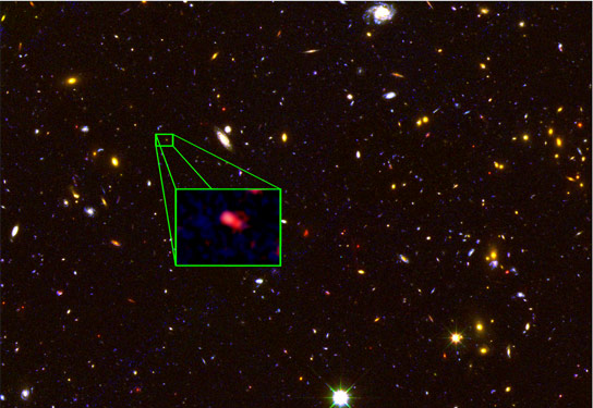 Astronomers Discover Most Distant Known Galaxy z8_GND_5296