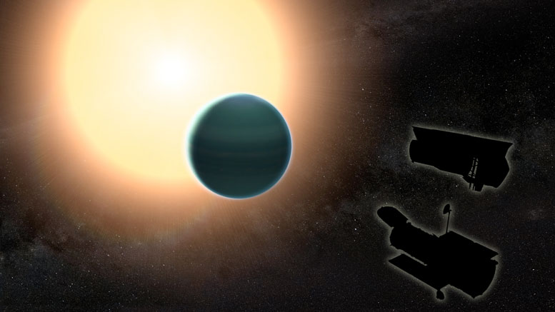 Astronomers Discover Primitive Atmosphere Around 'Warm Neptune'