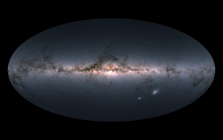 Astronomers Discover Thin Gap on Stellar Family Portrait