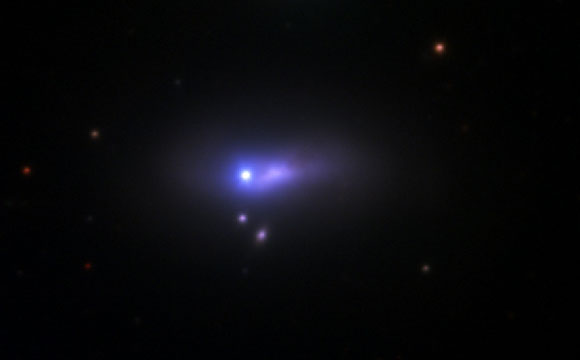 Astronomers Discover a Binary Companion for a Type Ia Supernova
