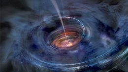 Astronomers Discover a Black Hole Choking on Stardust