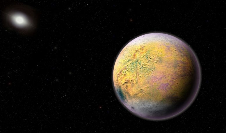 Astronomers Discover a Distant Solar System Object
