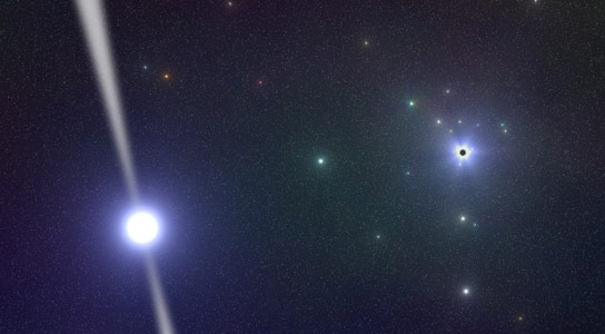 Astronomers Discover a Magnetar at the Center of the Milky Way Galaxy