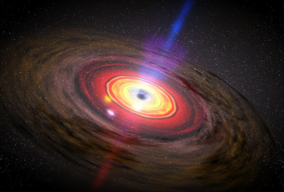 Astronomers Discover a Massive Black Hole, Larger Than Thought Possible