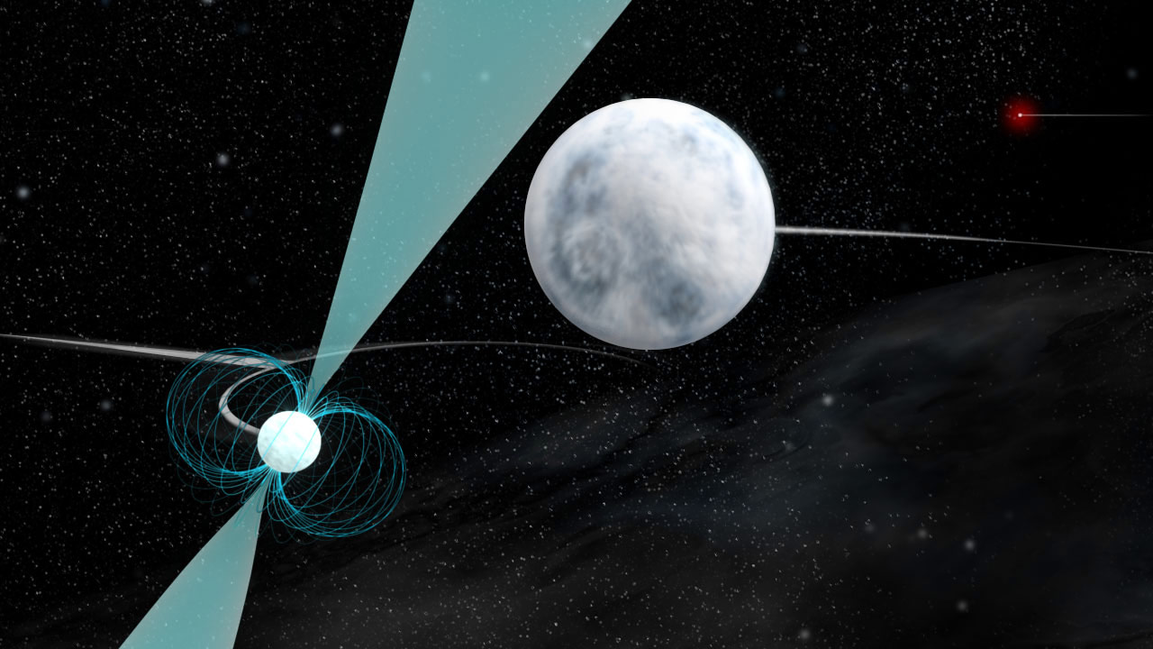 Astronomers Discover Triple System of Two White Dwarfs and ...