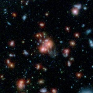 Astronomers Discover a Rare Galaxy Cluster