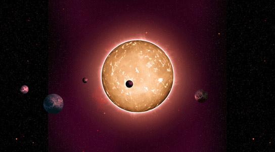 Astronomers Discover an Ancient Extrasolar System with Five Sub-Earth-Size Planets