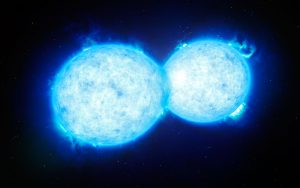 Astronomers Discover the Hottest and Most Massive Touching Double Star
