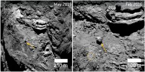 Astronomers Examine the Many Faces of Rosetta's Comet 67P