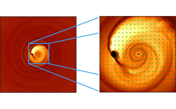 Astronomers Explain Funky Light Signal From Colliding Black Holes