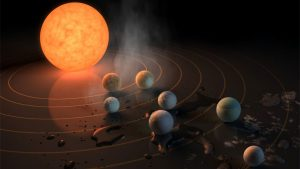 Astronomers Explain the Formation of TRAPPIST-1