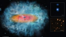 Astronomers Find Clues For How Giant Black Holes Formed So Quickly